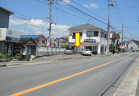高槻駅北側方面バスマップ